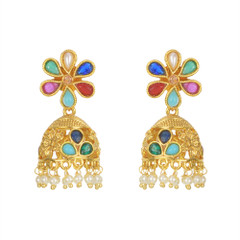 Stunning Gold Plated Earrings1880
