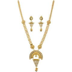 Stunning Gold Plated Necklace Set1925