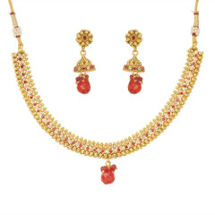 Stunning Gold Plated Necklace Set1930