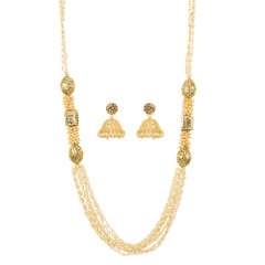 Stunning Gold Plated Necklace Set1936