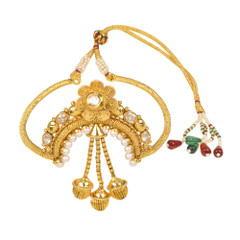 Stunning Gold Plated Designer Piece Armlets2012
