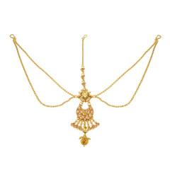 Stunning Gold Plated Maang Tikka1992