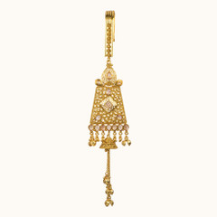 Stunning Gold Plated Saree Key Chain1960