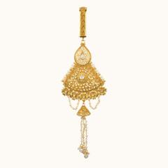 Stunning Gold Plated Saree Key Chain1962