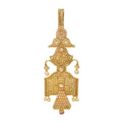 Stunning Gold Plated Saree Key Chain1963