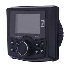 Poly-Planar MP4\/MP3\/Photo Playback Gauge Series Marine Radio [GSMR30]