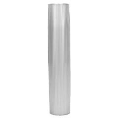 "TACO Aluminum Ribbed Table Pedestal - 2-3\/8"" O.D. - 30-3\/4"" Length [Z60-7288VEL30.75-2]"