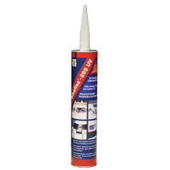 Sika Sikaflex 295UV UV Resistant Adhesive\/Sealant - 10.3oz(300ml) Cartridge - Black [412132]