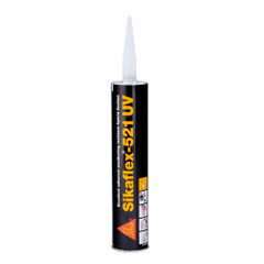 Sika Sikaflex 521UV UV Resistant LM Polyurethane Sealant - 10.3oz(300ml) Cartridge - White [106096]