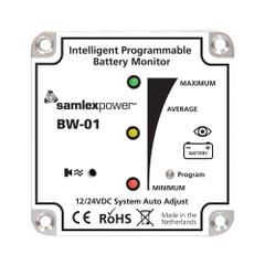 Samlex Battery Monitor - 12V or 24V - Programmable [BW-01]