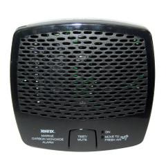 Xintex Carbon Monoxide Alarm - Battery Operated - Black [CMD5-MB-BR]
