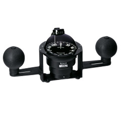 Ritchie YB-500 Globemaster Compass - Yoke Mounted - Black - 5 Degree card - 12V [YB-500]