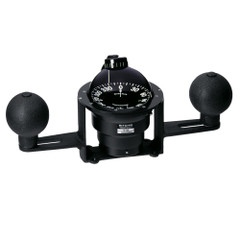 Ritchie YB-600 Globemaster Steel Boat Compass - Yoke Mounted - Black [YB-600]