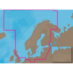 C-MAP MAX EN-M019 - North-Baltic Seas - C-Card [EN-M019C-CARD]