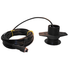 SI-TEX 120kHz Lexan Low-Profile Thru-Hull Transducer f\/SDD-110 [408P\/120]
