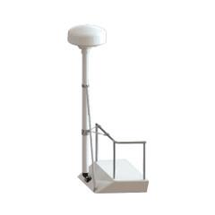 Seaview 8' Radar Mast Pole Kit w/Strut & Stand-Off Kit [RM8148]