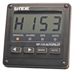 "SI-TEX SP-110 System w\/Rudder Feedback & Mechanical Remote Drive f\/Sail w\/8.5"" Stroke, 13,200 Displacement 32' [SP110SD-1]"