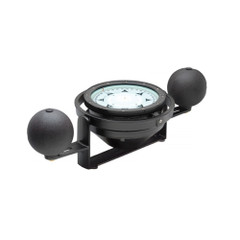 Ritchie Navy Standard Steel Boat Compass - Yoke Mounted - Black [NS-7.5-SB]