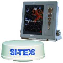 "SI-TEX T-2041 Professional Dual Range Radar w\/4kW 25"" Dome - 10.4"" Color TFT LCD Display [T-2041]"