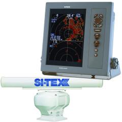 "SI-TEX Professional Dual Range Radar w\/4kW 4.5' Open Array - 10.4"" Color TFT LCD Display [T-2040-4]"