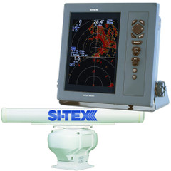 "SI-TEX Professional Dual Range Radar w\/6kW 6' Open Array - 10.4"" Color TFT LCD Display [T-2060-6]"