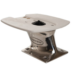 "Seaview 5"" Stainless Steel Power Mount - 7"" x 7"" Base - f\/Garmin\/Raymarine 3G\/4G Radar [PMA-5-7LSS]"