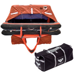 VIKING Coastal Life Raft 4 Person Valise [L004CL0015ACJ]