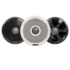 "FUSION FR6022 6"" Round 2-Way IPX65 Marine Speakers - 200W - Pair with 3 Speaker Grilles Provided - *Case of 6 Pairs* [010-01848-00CASE]"