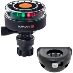 Navisafe Navilight 2NM Tricolor w\/Navimount Base  Vertical Mount - Black [340KIT8]