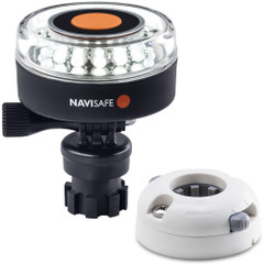 Navisafe Navilight 360 2NM White w\/Navimount Base  Horizontal Mount - White [040KIT5]