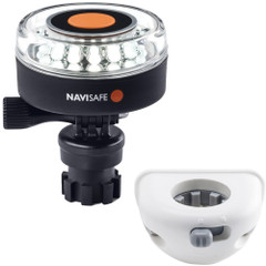 Navisafe Navilight 360 2NM White w\/Navimount Base  Vertical Mount - White [040KIT6]