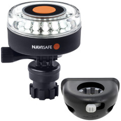 Navisafe Navilight 360 2NM White w\/Navimount Base  Vertical Mount - Black [040KIT8]