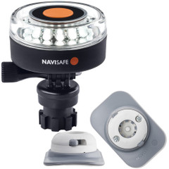 Navisafe Navilight 360 2NM White w\/Navimount Base  RIB Mount - White [040KIT4]