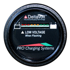 Dual Pro Battery Fuel Gauge - DeltaView Link Compatible - 36V System (3-12V Batteries, 6-6V Batteries) [BFGWOV36V]