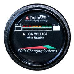 Dual Pro Battery Fuel Gauge - DeltaView Link Compatible - 48V System (4-12V Batteries, 8-6V Batteries, 6-8V Batteries) [BFGWOV48V]