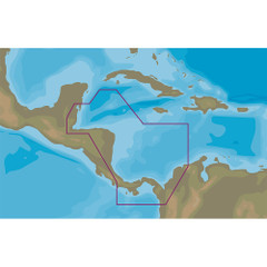 C-MAP MAX-N+ NA-Y966 - Belize to Panama [NA-Y966]