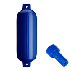 "Polyform G-5 Twin Eye Fender 8.8"" x 26.8"" - Cobalt Blue w\/Air Adapter [G-5-COBALT BLUE]"