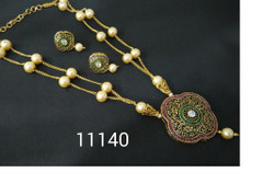 Amazing Gold Plated Pendan Set1468