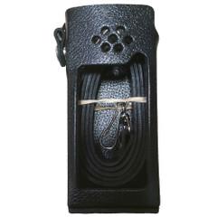 Standard Horizon Leather Case w\/Belt Loop  Shoulder Strap [SHC-18]