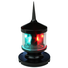 Lunasea Tri-Color LED Navigation Light w\/Strobe [LLB-53BK-01-00]