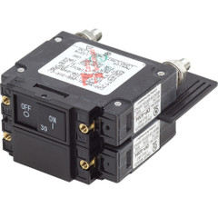 Blue Sea 7465 UL-489 Circuit Breaker - 30A Flat Rocker [7465]