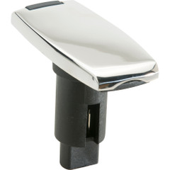Attwood LightArmor Plug-In Base - 2 Pin - Stainless Steel - Rectangle [910V2SS-7]