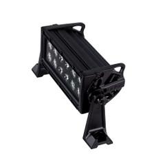 "HEISE Dual Row Blackout LED Light Bar - 8"" [HE-BDR8]"