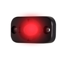 "HEISE Auxiliary Accent Lighting Pod - 1.5"" x 3"" - Black\/Red [HE-TL1R]"