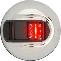 Attwood LightArmor Vertical Surface Mount Navigation Light - Port (red) - Stainless Steel - 2NM [NV3012SSR-7]