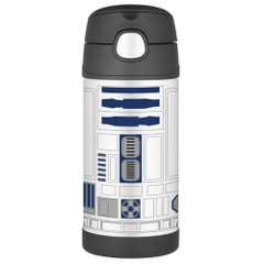 Thermos FUNtainer Stainless Steel, Insulated Straw Bottle - Star Wars - 12 oz. [F4015SW6]