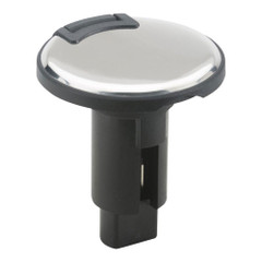 Attwood LightArmor Plug-In Base - 3 Pin - Stainless Steel - Round [910R3PSB-7]