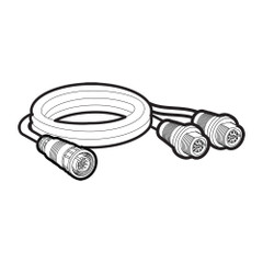 Humminbird 14 M SILR Y Side Image Left/Right Splitter Cable [720104-1]