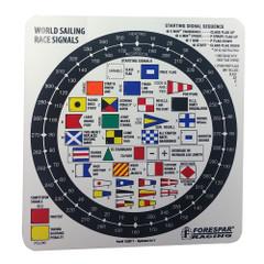 Forespar Nash 207 Racing Signal Flag Label [100017]