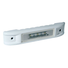 Lumitec Ibiza LED Engine Room Light - Blue\/White Dimming - White Finish [101522]